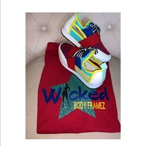 Tops - Wicked Body Framez Multi Color T-shirt